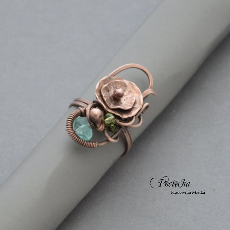 Water lilly - ring - Jewelry - DecoBazaar