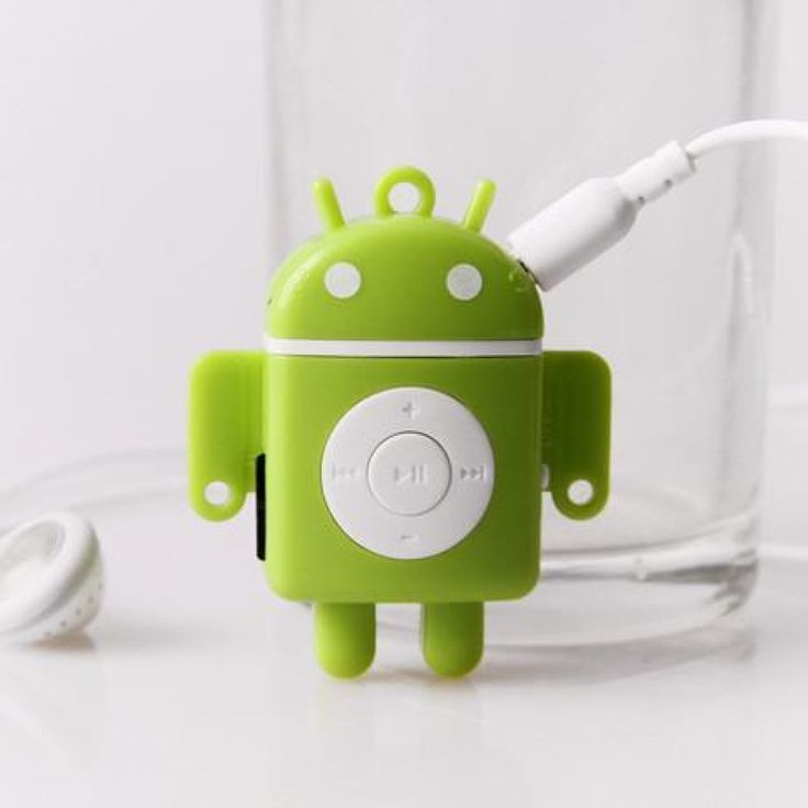 MP3 PLAYER MINI BENTUK ANDROID