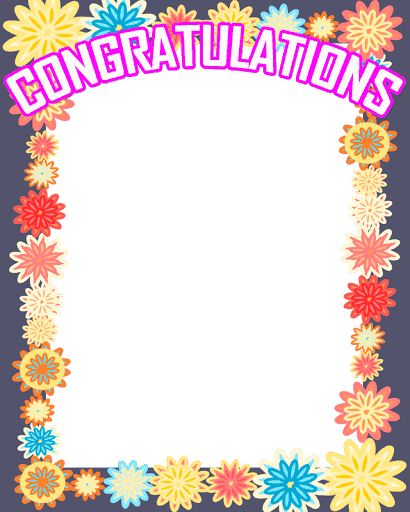 Congratulations Photo Frame Free For You!!!<br>****************************************************<br>The BEST and POPULAR Congratulations Photo collage sharing application.<br>Pic Congratulations Frames helps you to amazing looking Congratulations frames. <br>You can create awesome photo Congratulations frames using this app.<br>This app many cute Congratulations frames. <br>You can share your Congratulations Photo to your friends and your social network.  http://Mobogenie.com
