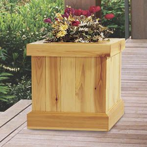 11-586 - Deck Planters Woodworking Plan