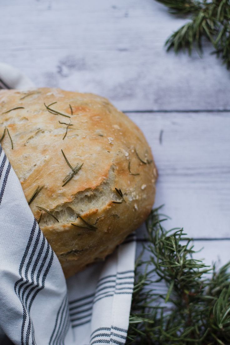 This No-Knead, 5-Ingredient Artisanal Bread Is Super Easy to Bake via Brit + Co