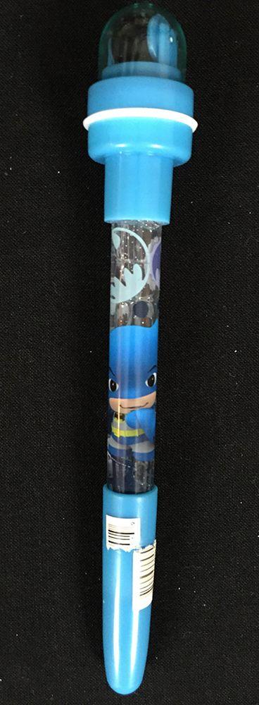 Batman Little Mates 4-1 Double Stamp Bubble Pen