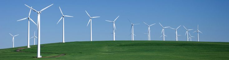 Wind power, green web hosting