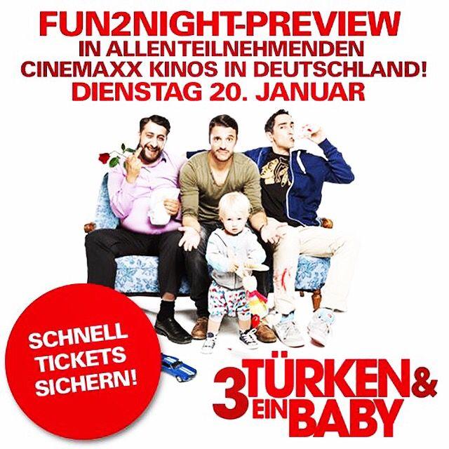 Ihr seid heiß auf den Film, aber zu ungeduldig, um auf den 22. Januar zu warten? Dann haben wir hier was für euch! Tickets gibt es online und in eurem Cinemaxx Kino! #3T1B