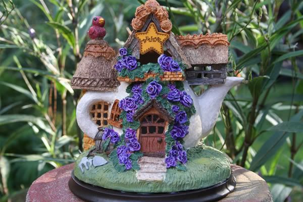 """Fairy Houses for Sale   for making me want to """"go on"""". I hope you enjoy your fairy house ..."""