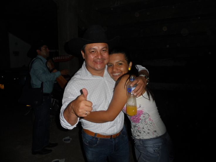 Walter Silva y Andrea Neiva Marquez