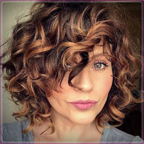20 neue bob-haarschnitte für lockiges haar | #