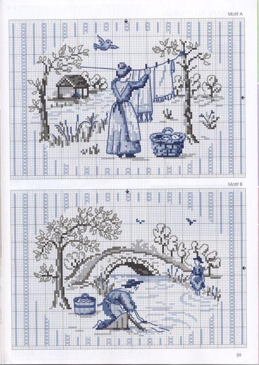 Gallery.ru / Фото #68 - De fil en Aiguille Carnet de Broderie 5-09 - Labadee