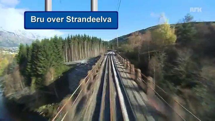El viaje en tren más bonito del mundo, desde Bergen a Oslo en 7 horas y media de vídeo sin interrupción