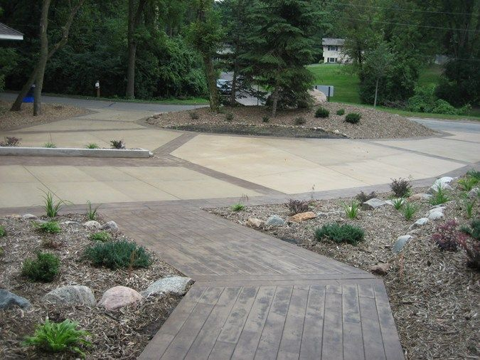 56 Best Images About Front Walkway On Pinterest Concrete Walkway Landscaping And Flagstone