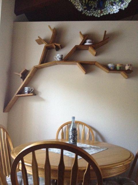 17 best images about tree shelves on pinterest trees for Tree of life bookshelf