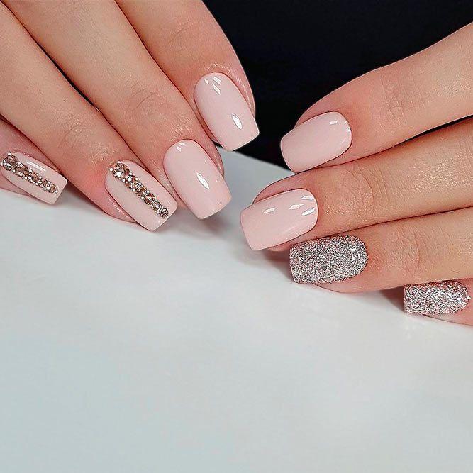 Daisy Nails Kt Love Pretty Wedding Pastel