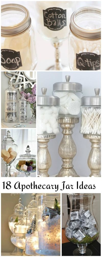 18 Lovely Apothecary Jar Ideas • Ideas and tutorials!