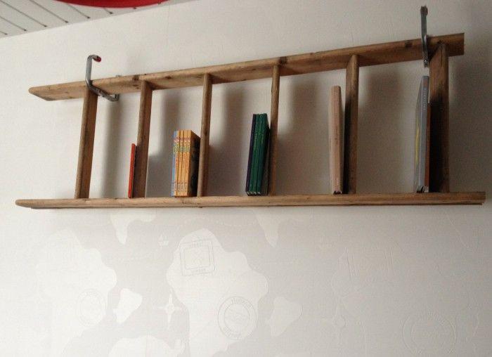 25 beste idee n over kleine boekenplank op pinterest boekenkast make over goedkope - Decoratie montee d trap ...