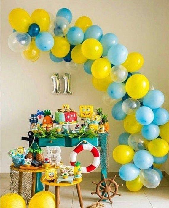 Balloon Garland DIY Kit Sponge Bob Theme