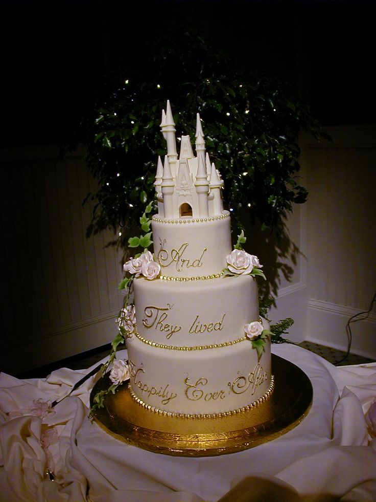 cinderella wedding cakes | Disney Castle cake. Another version of the castle cake, this time ...