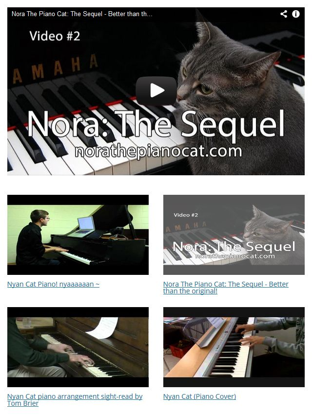 Create a YouTube Videos Page Template From an RSS Feed  Note to self: Need to do more tutorials and add to my site.