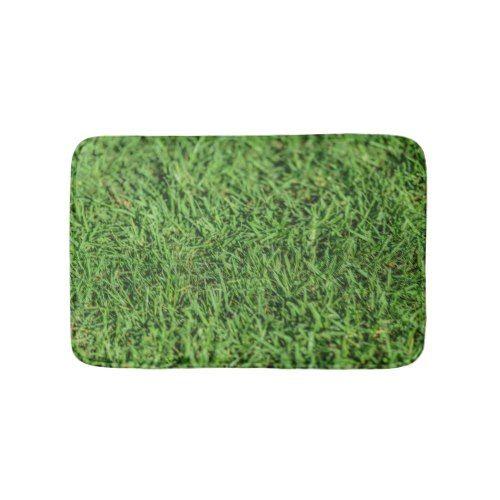 Grassy Green Bath Mat