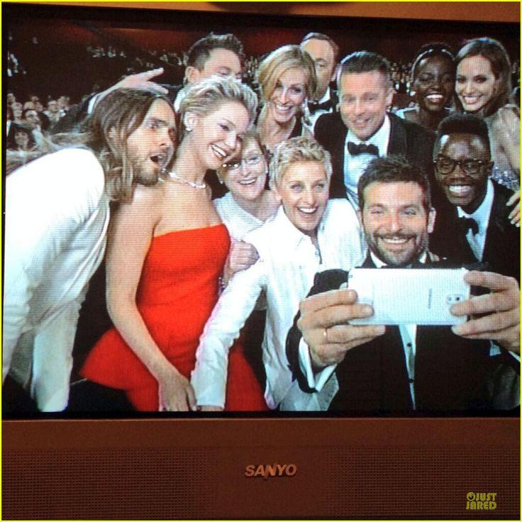 Ellen DeGeneres: Oscars Selfie with TONS of Stars