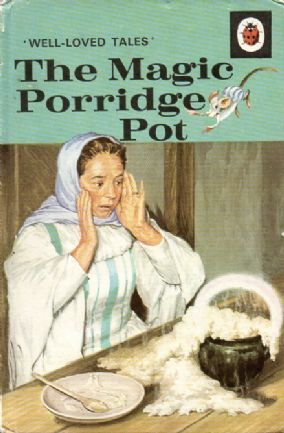 THE MAGIC PORRIDGE POT Vintage Ladybird Book Well Loved Tales Series 606d Matt Hardback 1981