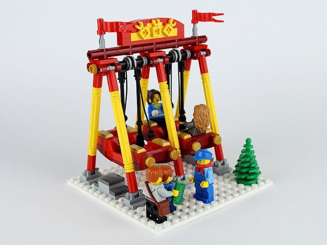 Swing Boats By Darkblane Lego Lego Lego Zoo Lego Friends