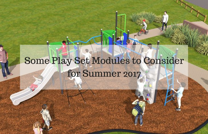 Many parents must be thinking to install the play area equipment this summer in their backyard. There are various playsets you can install to your backyard. Read here to know about the playset modules. #playset #outdoor #play #playground
