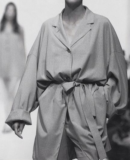 Jil Sander 1991 (via cactoshop)                                                                                                                                                      More