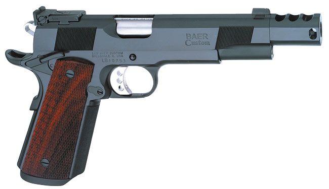 Les Baer Custom Inc. 1911 Ultimate Master Combat Pistol, Compensated.
