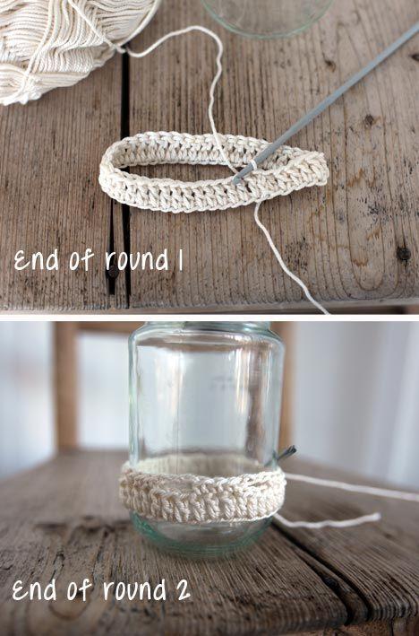Crochet Pattern - Jar cosy