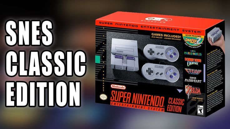 SNES Classic Edition (aka Super NES mini) Announced by Nintendo - Talk About Games Nintendo has announced the mini Super NES Classic Edition! The SNES Classic by Nintendo is launching on September 29th with 21 Games including the unreleased Star Fox 2! With Mike Matei and Ryan! ----------------------------------------------------------------- Full list of US release games: Contra III: The Alien Wars Donkey Kong Country EarthBound Final Fantasy III F-ZERO Kirby Super Star Kirbys Dream Course…