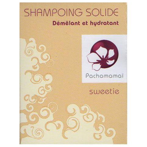 Pachamamai shampoo sweetie is een milde en hydraterende shampoo met rijstmelk, ideaal voor beschadigd, lang, krullend, fijn of gekleurd haar.
