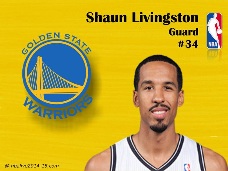 Shaun Livingston - Golden State Warriors - 2014-15 Player