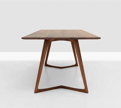 zeitraum germany | twist table in solid wood http://spencerinteriors.ca/Zeitraum.html