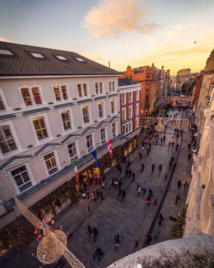 Grafton Street. Dublin
