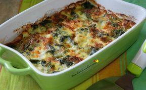 Tortino di spinaci con mozzarella