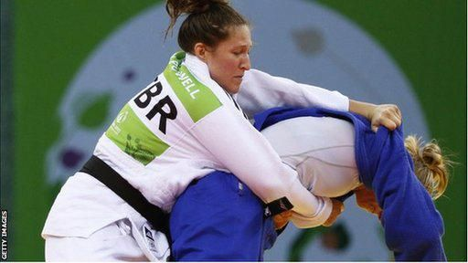 Welsh judo player Natalie Powell confident ahead of her World title challenge on Friday. http://bbc.in/1Ve3ue1