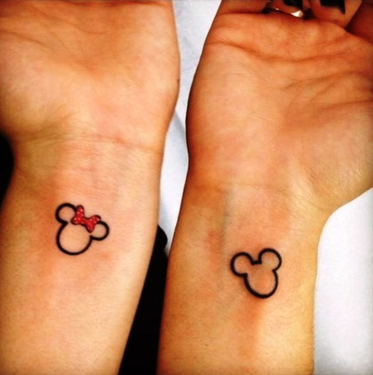 The Best Disney Couple Tattoos Ideas On Pinterest Small - 30 amazing couple tattoos that will make you look twice