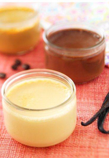 Recettes de crèmes : crèmes à la vanille et au chocolat, creme vanille et creme chocolat - Recettes de cuisine écologiques