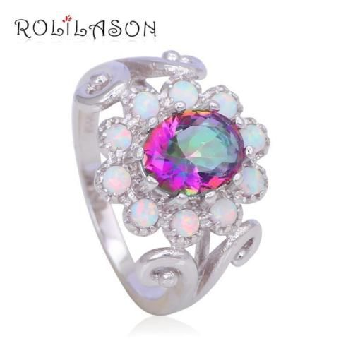 OR748OU-6-Rainbow-Topaz-White-fire-Opal-Fashion-Jewelry-Silver-Engagement-Rings