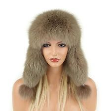 Mujer Piel Invierno zorros Gorro de Aviador Esquí FOX: 167,90 EUREnd Date: 19-sep 09:01Buy It Now for only: US 167,90 EURBuy it now | Add…