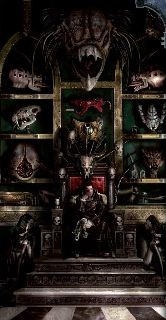 curse-your-gods-and-die:  I've decided to become a big game hunter in the 40k universe.