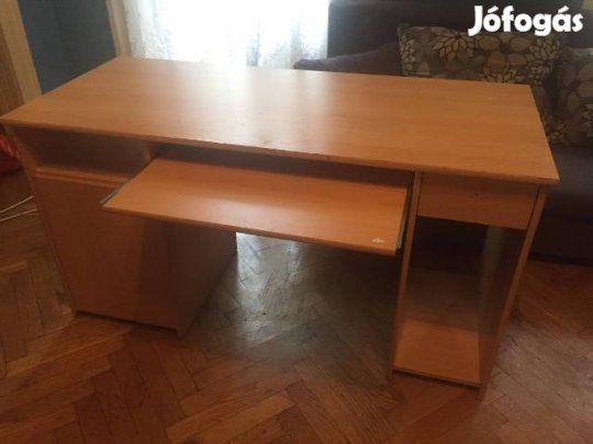 Íróasztal - Költözés miatt eladó: Nem használt íróasztal jó állapotban költözés miatt eladó.  (Van belőle egy ugyanolyan darab,…