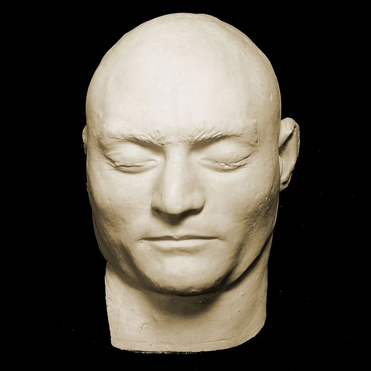 Ned Kelly's death mask.  Kelly was executed at the old Melbourne Gaol on the 11th of November 1880. #twistedhistory #melbournemurdertours