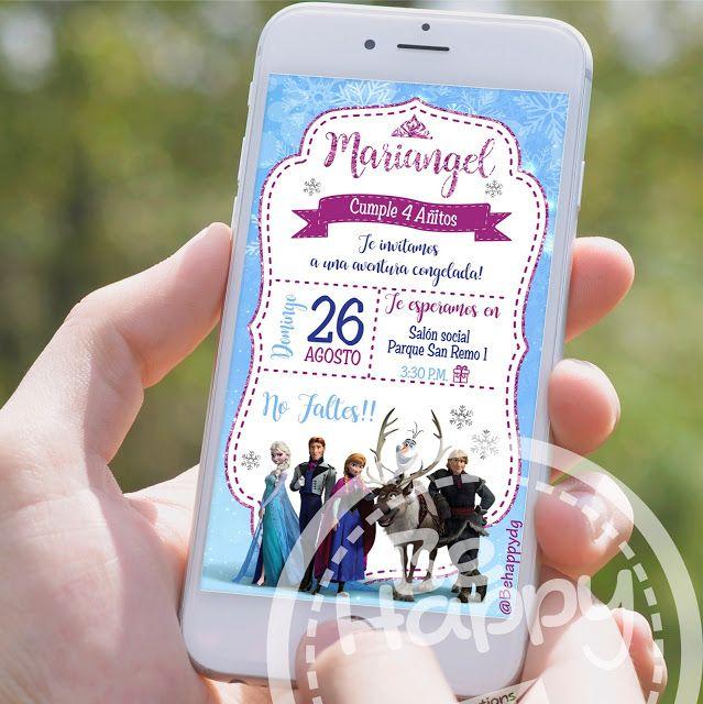 Be Happy Tarjeta De Invitación Digital Tarjetas