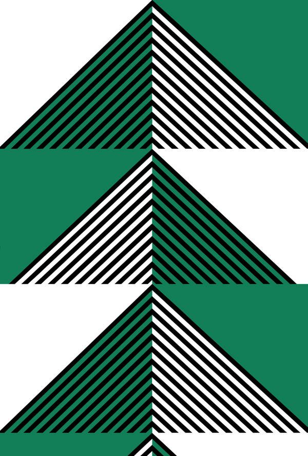 Lucienne Day. Apex - Green.
