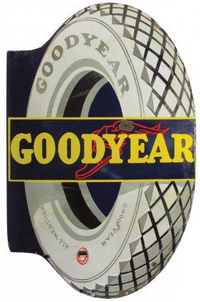 Goodyear Tires Flange Sign
