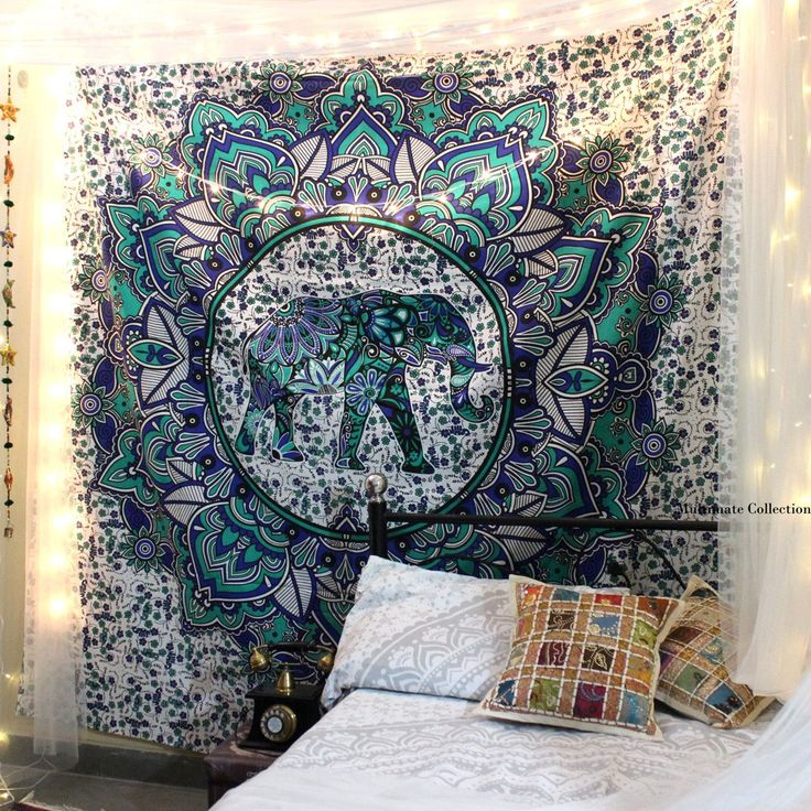 Add a Indie touch to your home or apartment by hanging this cool tapestry   This. Best 25  Elephant tapestry ideas on Pinterest   Bohemian wall