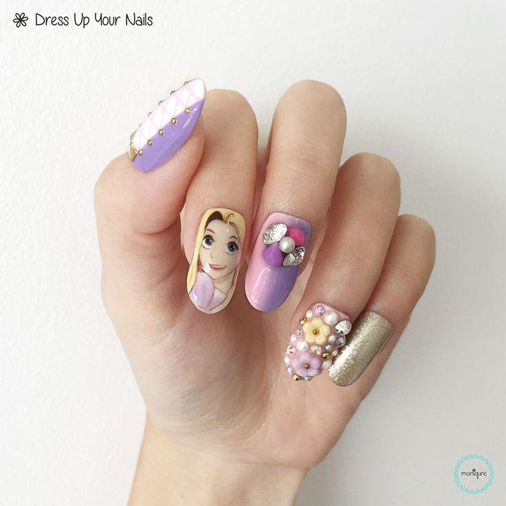 Disney Princess Nails: 17 Best Ideas About Disney Princess Nails On Pinterest