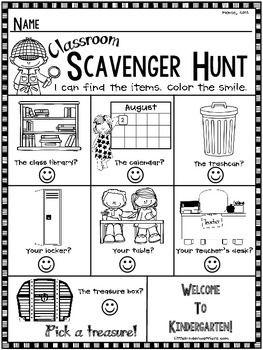 Kindergarten Open House, Meet and Greet or Orientation Sca