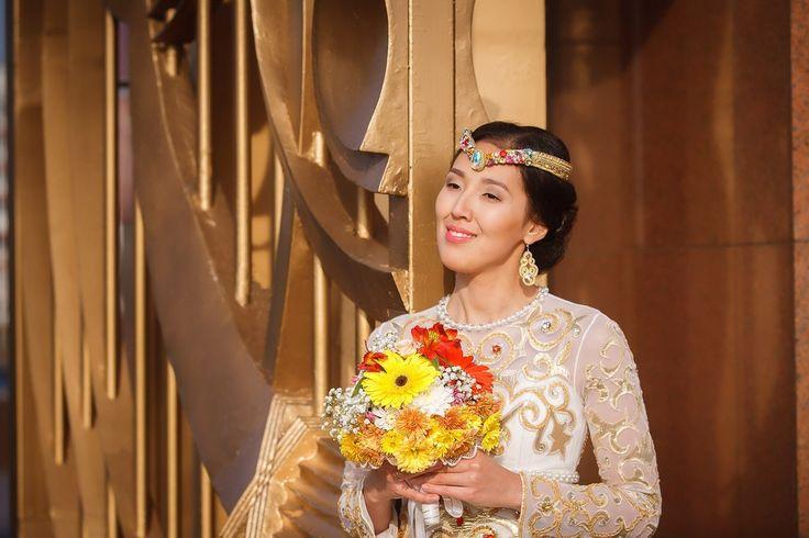 фотограф Алматы Акуленко, портрет невесты на свадьбе